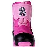 Сапоги зимние детские Demar DOGGY розовый. Размеры 24-29, фото 4