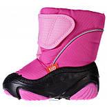Сапоги зимние детские Demar DOGGY розовый. Размеры 24-29, фото 5
