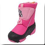 Сапоги зимние детские Demar DOGGY розовый. Размеры 24-29, фото 6