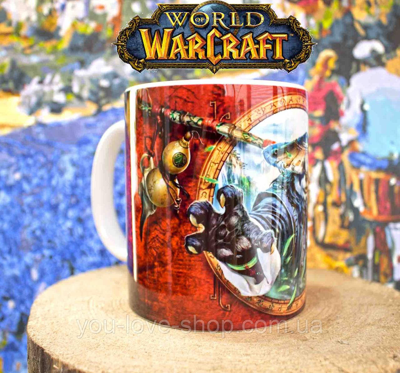 Чашка панда Варкрафт/ World of Warcraft