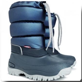 Зимние сапожки-сноубутсы Demar Lucky синий. Размеры 36-42