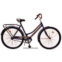 Велосипед Спутник 28 (Ж) (метал. защита цепи)