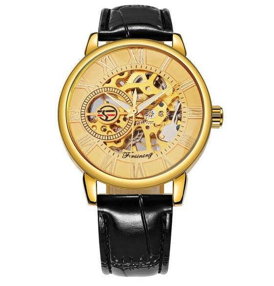 Механические часы Forsining Rich (black-gold)