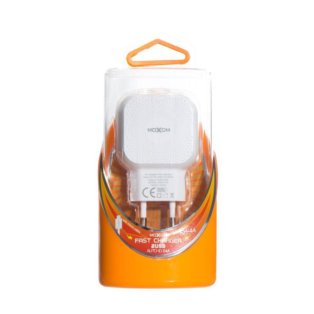 Сетевое зарядное устройство Moxom KH-44 Micro SKL11-231776