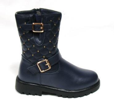 Ботинки Clibee К 33 синий. Размеры 27,28