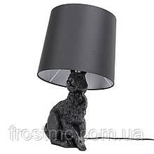 Настільна лампа Кролик - чорна