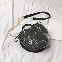Элегантная круглая сумочка в форме сердца, фото 3