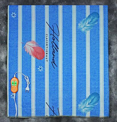 Электропростынь двоспальне євророзмір Lux Electric Blanket Classrtignaut Light 155x170 см, фото 2