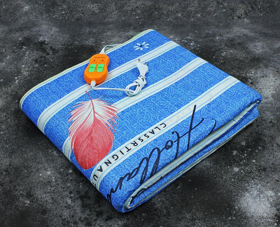 Электропростынь двоспальне євророзмір Lux Electric Blanket Classrtignaut Light 155x170 см