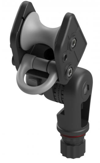 Роликовый узел Arr003 с пластиковым кольцом и механизмом наклона для якоря весом до 8кг