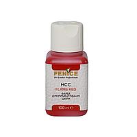 Фарба для шкіри Червона Fenice Flame Red HCC, 100 ml, фото 1