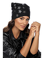 Модна жіноча шапка в кольорі пудра GARDISA
