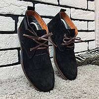 Ботинки (На меху) Point Break 13042  [ 41,42,43,44,45 ]. Мужские кожаные кроссовки. Мужская зимняя обувь