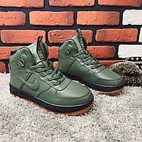 Зимние кроссовки (на меху) Nike LF 1 1-169 [42,46 ] (реплика). Кроссовки зимние, спортивные ботинки
