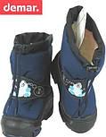 Сапоги зимние детские Demar SNOWMEN синий. Размеры 20-29, фото 3