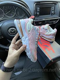 Nike Air Max 270 React Barely Rose (Розовый)