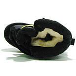 Зимние ботинки модель 7751 черный с салатовым. Качество. ТМ Сказка. Размер 30, фото 8