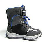 Зимние дутики ботинки термо ТОМ М 5790А черный. Размеры 27-29, фото 5