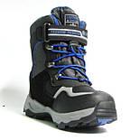 Зимние дутики ботинки термо ТОМ М 5790А черный. Размеры 27-29, фото 6