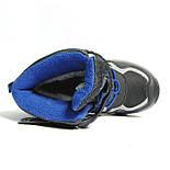 Зимние дутики ботинки термо ТОМ М 5790А черный. Размеры 27-29, фото 8