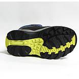 Зимние дутики ботинки термо ТОМ М 5795С синий. Размер 28, фото 7