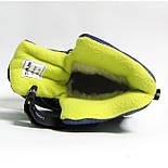 Зимние дутики ботинки термо ТОМ М 5795С синий. Размер 28, фото 8