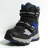 Зимние дутики ботинки термо ТОМ М 5795А черный. Размеры 28 и 31, фото 3