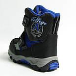 Зимние дутики ботинки термо ТОМ М 5795А черный. Размеры 28 и 31, фото 5