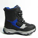 Зимние дутики ботинки термо ТОМ М 5795А черный. Размеры 28 и 31, фото 6