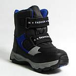 Зимние дутики ботинки термо ТОМ М 5795А черный. Размеры 28 и 31, фото 7