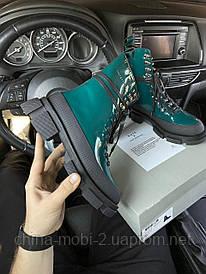 BOTH Gao High Boots (Зелёный)