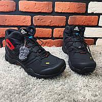 Зимние ботинки (на меху) Adidas Terrex  3-078 [44,46 ]. Мужские кожаные кроссовки. Мужская зимняя обувь