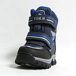 Зимние ботинки дутики термо ТОМ. М  5731Д синий. Размер 26, фото 3