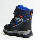 Зимние ботинки дутики термо ТОМ. М  5731Д синий. Размер 26, фото 5