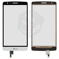 Touchscreen (сенсорный экран) для LG Optimus G3s D724, белый, оригинал