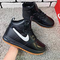 Зимние кроссовки (НА МЕХУ) Nike LF1 1-135 [ 41,42 ] (реплика). Кроссовки зимние, спортивные ботинки