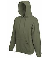 Худи Fruit of the Loom Classic hooded sweat XL Оливковый 062208059XL, КОД: 1554569