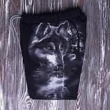 """Светящиеся шорты """"Волк отражение""""  рост 122-128, фото 3"""