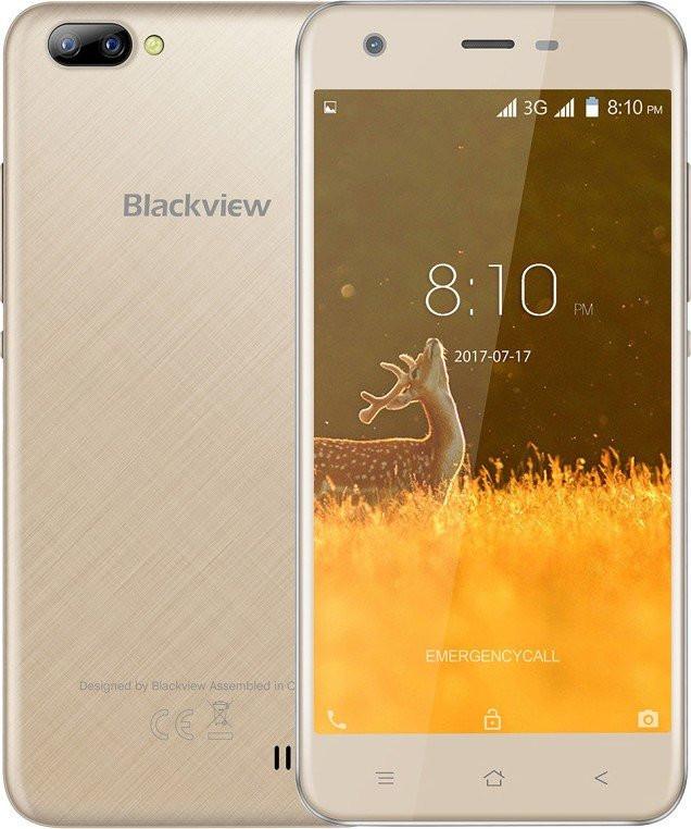 Смартфон Blackview A7 Champagne Gold 1/8Gb