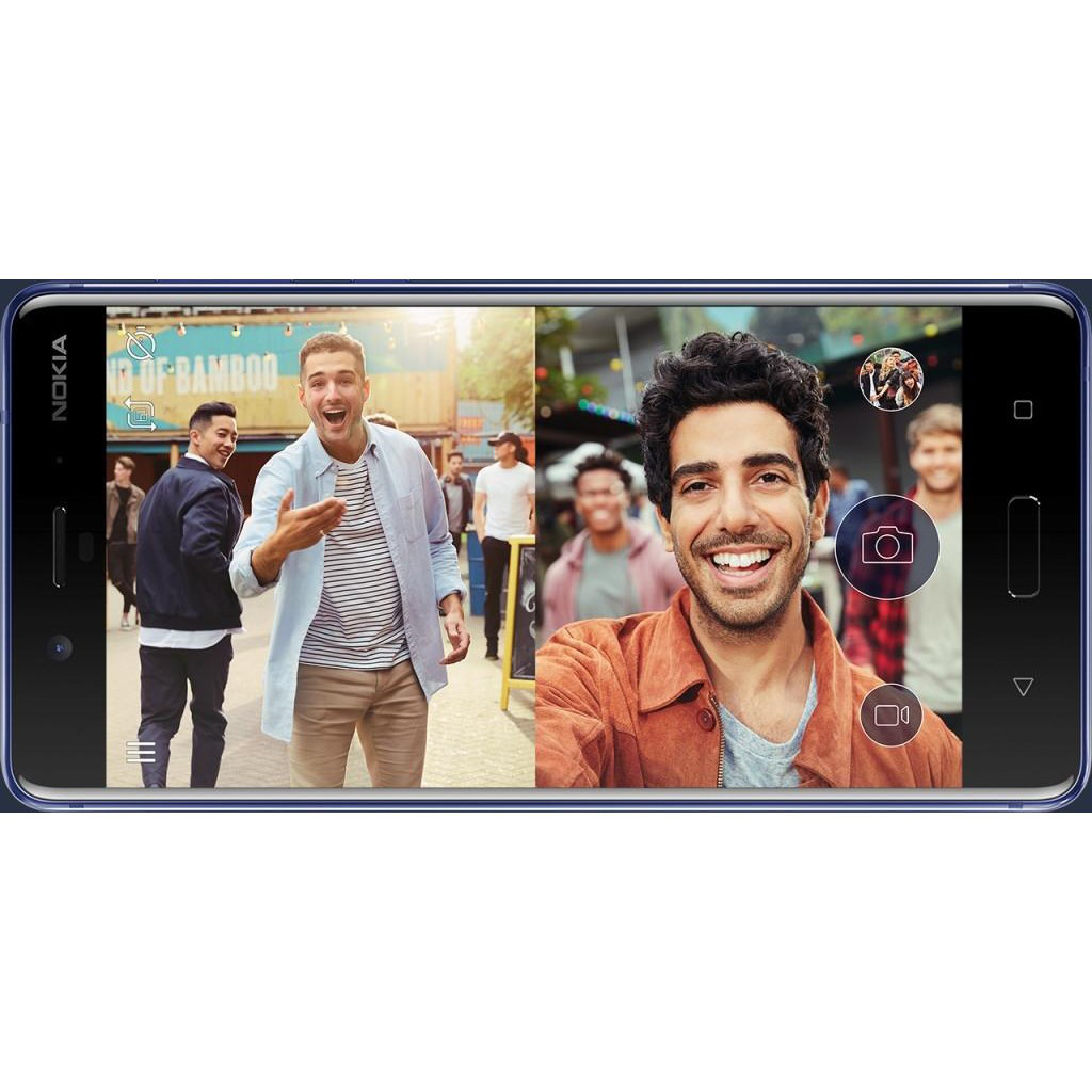 Смартфон Nokia 8 4/64GB Matte Blue (TEMPERED)