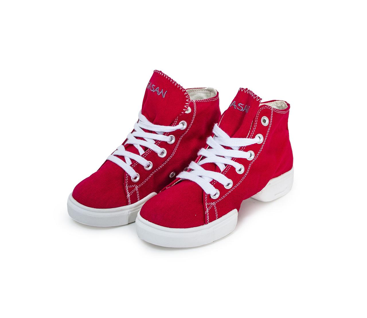 Кеды высокие  для хип хопа SASAN 8868 Красный