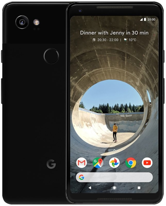 Смартфон Google Pixel 2 XL 128Gb Just Black Refurbished