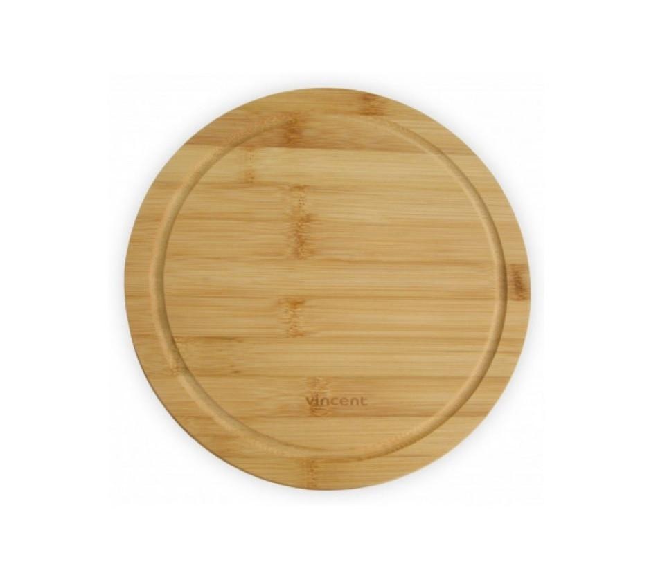 Доска Vincent кухонная бамбук 24х24х1,2 см VC-2103-24