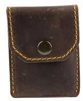 Мужское кожаное портмоне для монет и карточек Black Brier П-15-33 коричневый