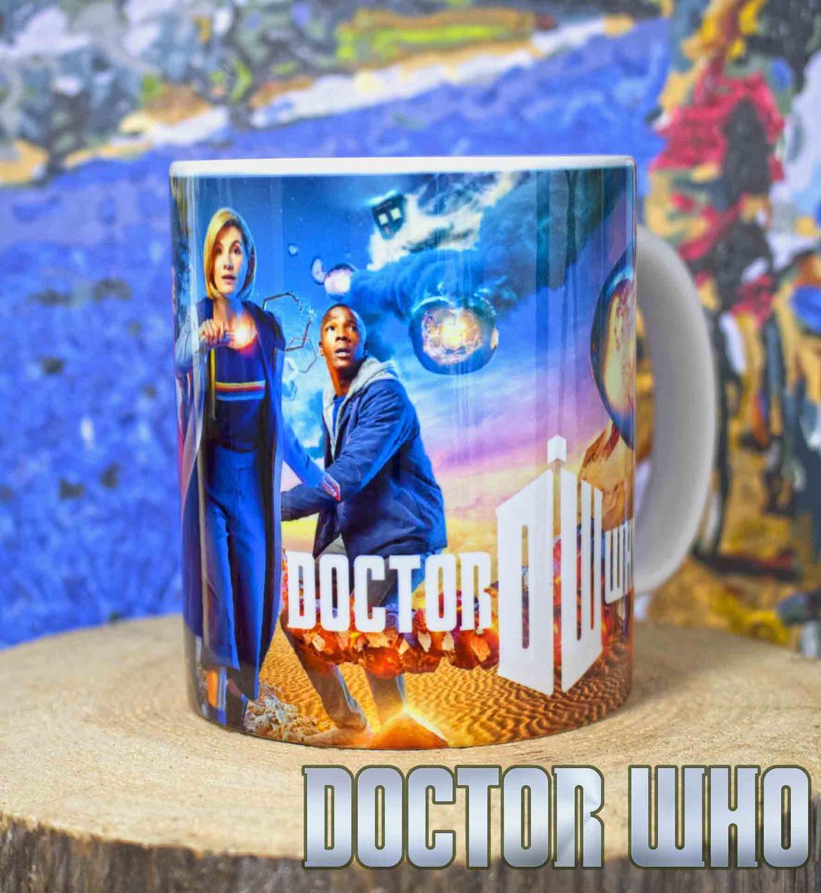 """Чашка Доктор Кто """"Миссия"""" / Doctor Who"""