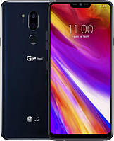 Смартфон LG G7+ ThinQ 6/128GB Aurora Black