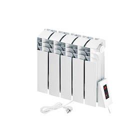Електричний радіатор Flyme Compact 5 секцій / 490 Вт / під низький підвіконня