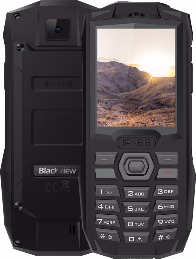 Защищенный телефон  Blackview BV1000 32Mb/32Mb Black противоударный водонепроницаемый смартфон