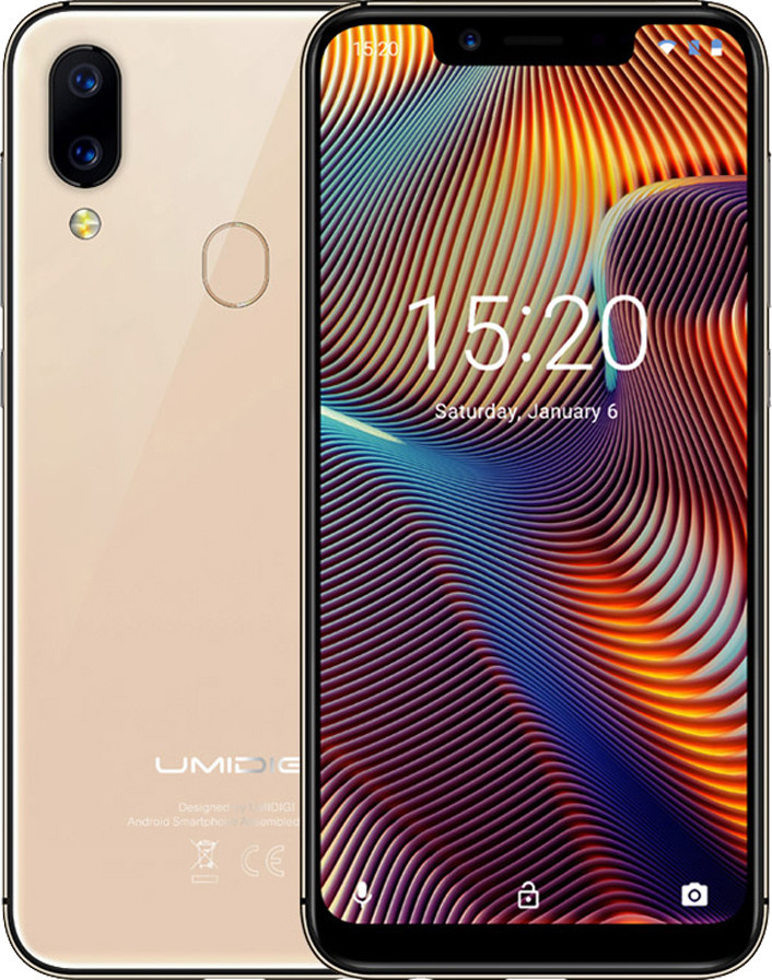 Смартфон Umidigi A3 Pro 3/32Gb Gold