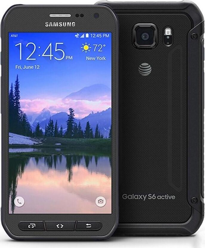 Смартфон Samsung Galaxy S6 Active G890A 32gb Black Refurbished